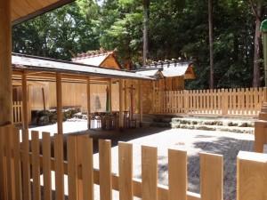 祖霊社である和玉神社(佐那神社)