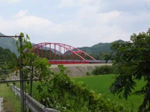 県道747号 打見大台線から望む長ケ大橋