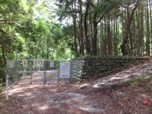 長発電所付近(大台町長ケ)
