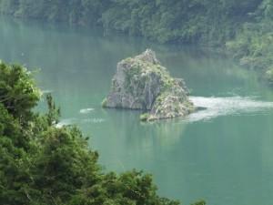 神の岩展望台から望む神の岩