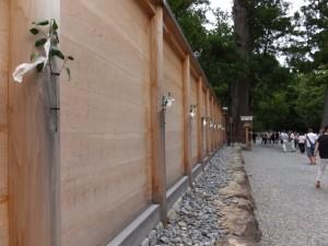 外宮 御正宮の板垣