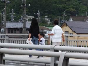 赤崎祭で授与された御神杉(赤崎神社)