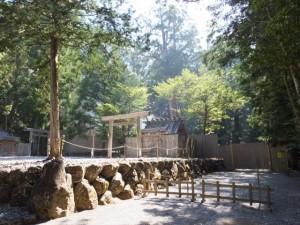 若宮神社、長由介神社と御造営が進められる新御敷地(瀧原宮)