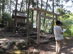 水戸神神社(大滝峡)