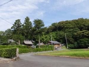 浄眼寺付近(松阪市大阿坂町)
