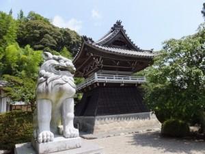 狛犬に出会ったお寺、正法山 浄眼寺(松阪市大阿坂町)