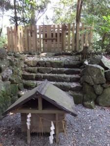 阿射加神社、境内社(松阪市大阿坂町)