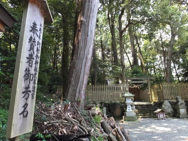 阿射加神社(松阪市大阿坂町)