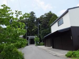 阿射加神社付近(松阪市小阿坂町)