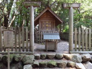阿射加神社、摂社 大若手神社(松阪市小阿坂町)