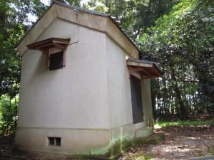 阿射加神社、蔵(松阪市小阿坂町)