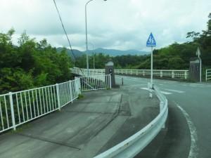 宮川に架かる久具都比売橋(宮リバー度会パークから野原公園への途中)