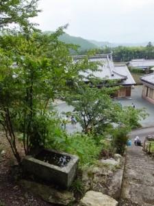 禅廣山妙色寺前にある神社の前からの展望