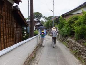 立花観音堂から見滝寺へ(度会町長原)
