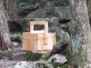 おんべまつりの鮎(水戸神神社)