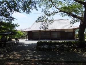 徳林寺付近(度会町当津)