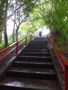 多宝山地蔵院 青蓮寺へ