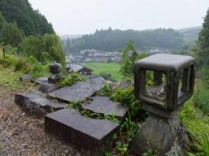 多宝山地蔵院 青蓮寺からの風景
