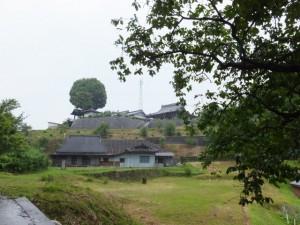 多宝山地蔵院 青蓮寺の遠望