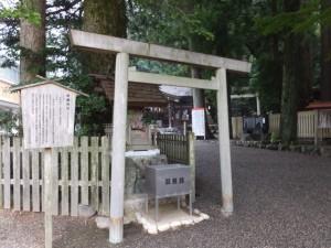庚龍神社(椿大神社)