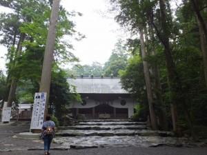 拝殿正面(椿大神社)