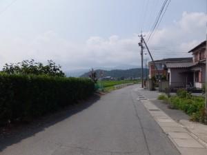 御塩道の一部(御塩浜から二見浦観光案内所へ)