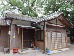 二見神社(姫宮稲荷神社)の社務所