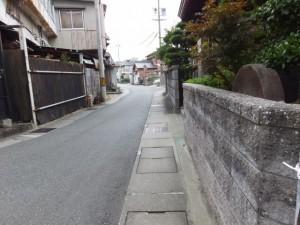 御塩道(二軒茶屋から清浄坊橋)