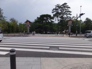御塩道(外宮前交差点)