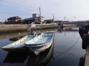 勢田川(川の駅 河崎の前)