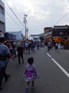 河崎の天王祭、中橋通り(伊勢市河崎)