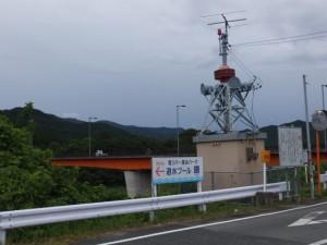 内城田大橋(宮川)付近