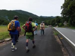 SANCO 内城田大橋 バスのりば〜川口交差点