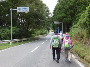 伊勢市へ(飛瀬浦橋(一之瀬川)〜SANCO 土場 バスのりばの途中)