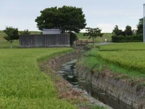 山田奉行所記念館付近から望む御薗手筒花火製造所