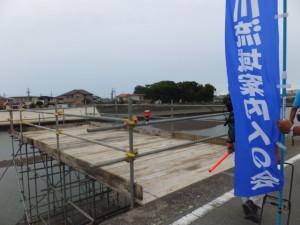 宮川右岸 堤防道路(山田奉行所記念館付近〜第二湊橋)