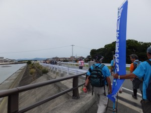 第二湊橋(大湊川)から宮川の河口へ