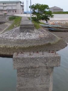 御祓橋(おはらいばし)跡(大湊川と宮川の合流点付近)