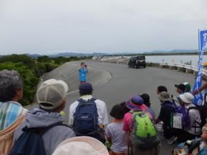 宮川ウォーク・右岸、最後の集合写真