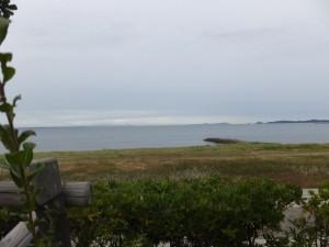 大湊海岸から富士山?