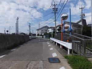 寺家2号樋門付近