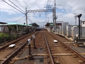 近鉄名古屋線 踏切道 千里 第1号、伊勢-2(12765)付近