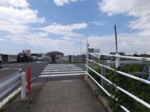 大蔵橋、伊勢-2(13250)付近
