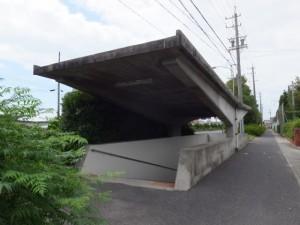 国道23号 河芸交番前交差点の地下道、伊勢-3(1035)