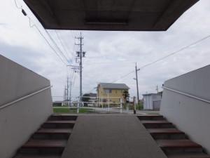 国道23号 河芸交番前交差点の地下道、伊勢-3(1035)付近