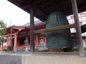 津観音(観音寺)の銅鐘