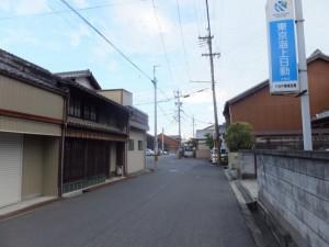 八幡神社の社標、伊勢-3(12800)付近