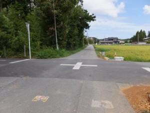 湯田神社から県道37号 湯田3交差点へ