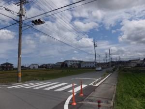 NTT 伊勢小俣RT-BOX付近の交差点