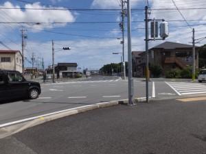 中部電力 湯田野変電所からJR参宮線 掛橋踏切へ、右折